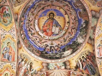 Rila-Monastery-Fresco