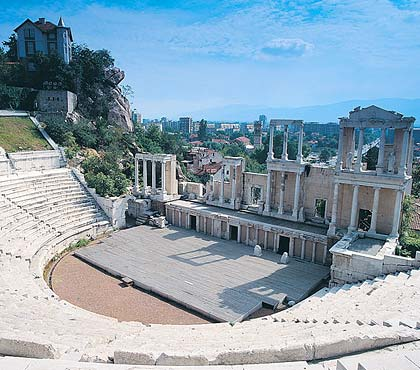 One day tours from Sofia to Plovdiv