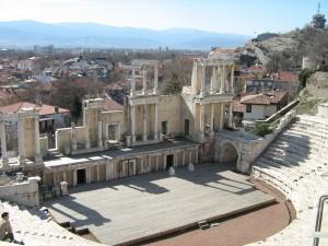 Plovdiv amphitheather